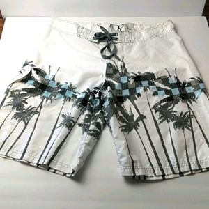 Board shorts Hawaiian men's size 36